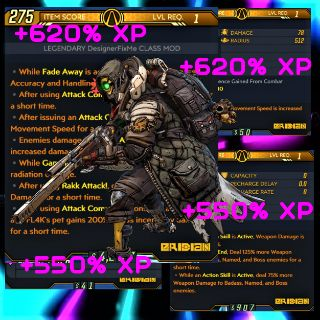 Class Mod   ❗MOD❗ FL4K 👊 XP ⬆️ LV 1