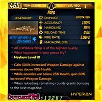 Weapon | ❗MOD❗ Narp ⚡ Level 1