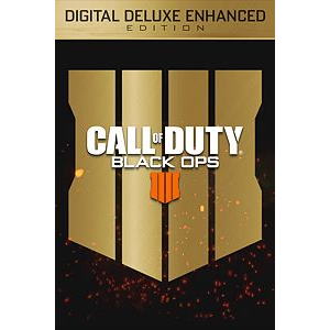 call of duty black ops 4 digital deluxe enhanced edition ps4
