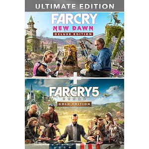 Far Cry® 5 Gold Edition + Far Cry ® New Dawn Deluxe Edition Bundle (argentina code, only buy if you know how to redeem)