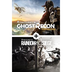 (RETAIL $100) Tom Clancy's Ghost Recon® Wildlands and Tom Clancy's Rainbow Six® Siege