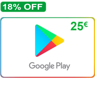 €25.00 Google Play Germany (Instan Delivery)