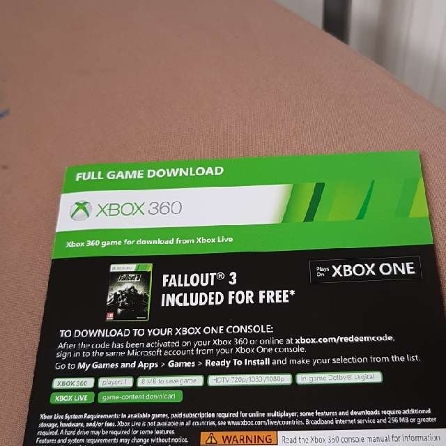 Fallout 3 - XBox One Games - Gameflip