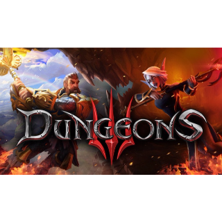 Dungeons 3 Steam Key GLOBAL INSTANT