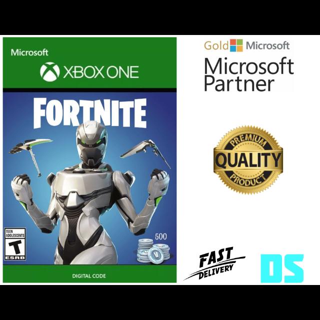 Fortnite Eon Cosmetic Skin 500 V Bucks Xbox One Xbox One Games Gameflip