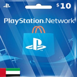 $10.00 PlayStation Store UAE