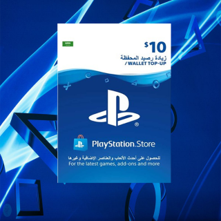 $10.00 PlayStation Store KSA