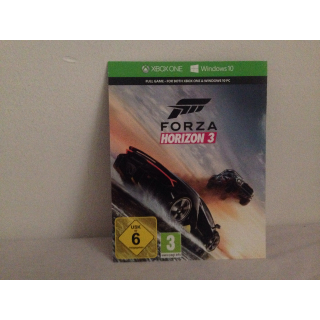 Forza horizon 3 Xbox one key