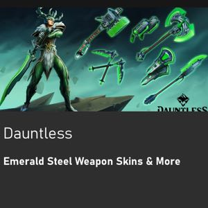 Dauntless Emerald Green Skins (Code)