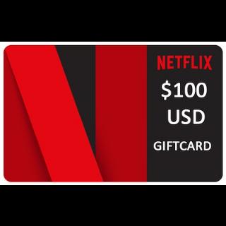 $100 Netflix GiftCard 📺