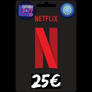 25€ Netflix GiftCard 📺