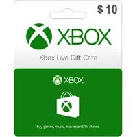 $10.00 Xbox Gift Card - 100 % WORKING - INSTANT DELIVERY