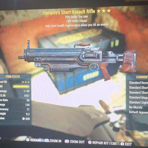 Weapon   V25 15fr assault rifle