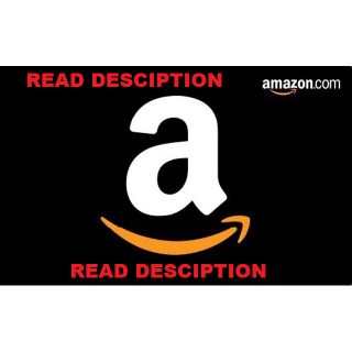 *Read Descriptio*$50 USD DOLLARS Amazon Gift Card NORTH AMERICA