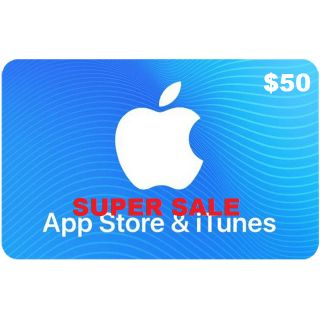 Apple iTunes Gift Card NORTH AMERICA 50 USD iTunes United States