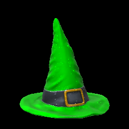 Witch's Hat | Forest Green