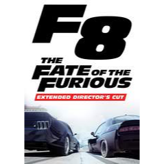 The Fate of the Furious (Extended Director's Cut) HD MA Code