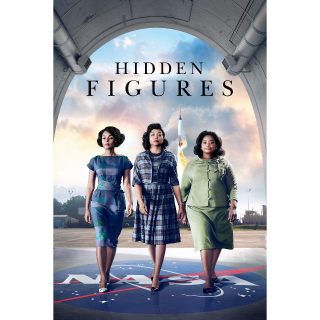 Hidden Figures HD MA OR 4K ITUNES (FOX REDEEM)
