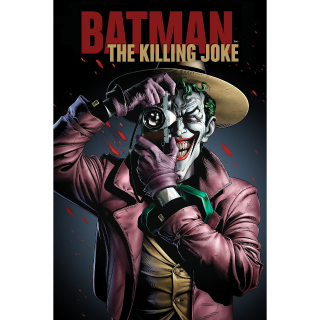 Batman: The Killing Joke HD MA Code