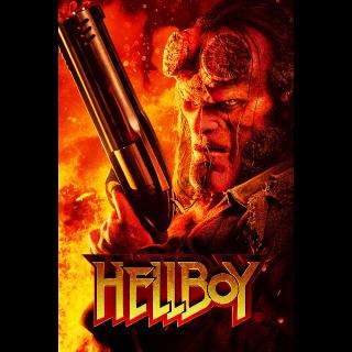 Hellboy HD VUDU or 4K iTunes (NON MA)