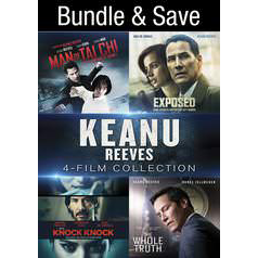 Keanu Reeves 4-Film (Bundle) HD VUDU Code