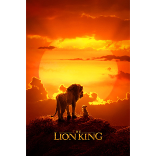 [INSTANT] The Lion King HD MA Code Only