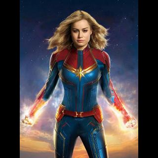 Captain Marvel 4K MA + 200 DMR Points Code Only