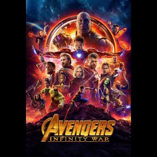 Avengers: Infinity War HD Google Play Redeem Code