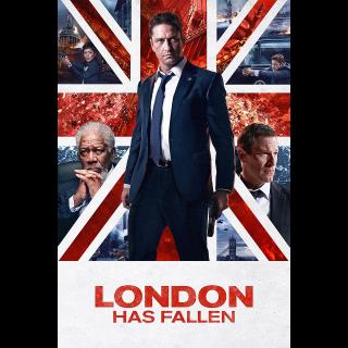 London Has Fallen HD iTunes Code Only