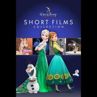 Walt Disney Animation Studios Short Films Collection HD Google Play Redeem Code