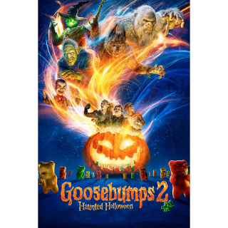 Goosebumps 2: Haunted Halloween HD MA Code