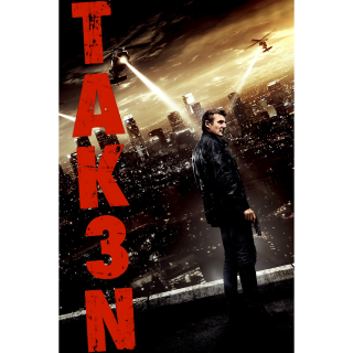 Taken 3 (Unrated) HD MA Code