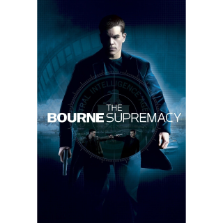 The Bourne Supremacy 4K iTunes Redeem Code Only