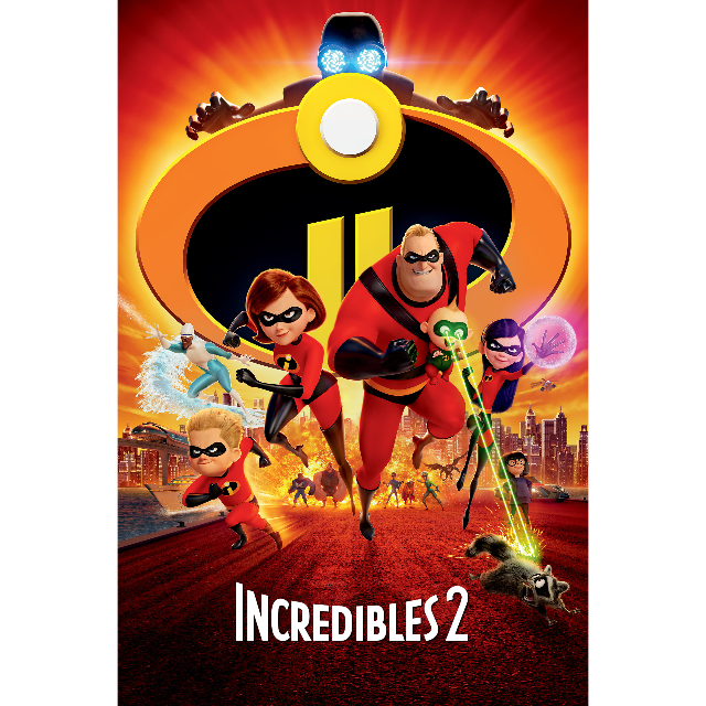 Incredibles 2 (Google Play Redeem Code)