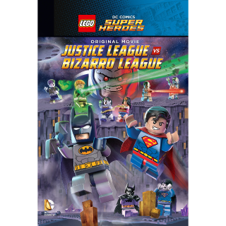 LEGO DC Comics Super Heroes: Justice League vs. Bizarro League HD MA Code