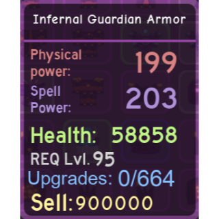 Other | DQ|Infernal Guardian Arm