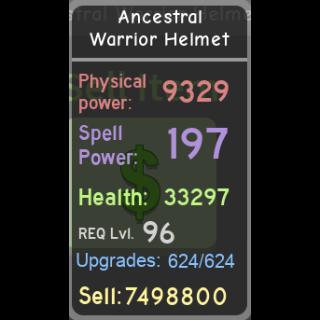 Other | DQ|Ancestral Warrior Hel
