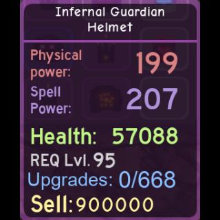 Other | DQ|Infernal Guardian Hel