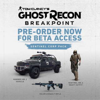 Tom Clancy's Ghost Recon Breakpoint Sentinel Corp. Pack DLC (PS4/PC/Xbox)