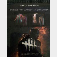 Street Meg + Science Fair Claudette Exclusive Skin - Dead By Daylight (Steam key)