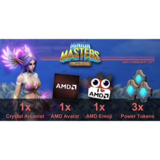 AMD Itens for Minion Masters (in-game code)
