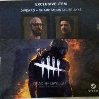 Dweard + Sharp Mustache Jake Exclusive Skin - Dead By Daylight (Steam key)