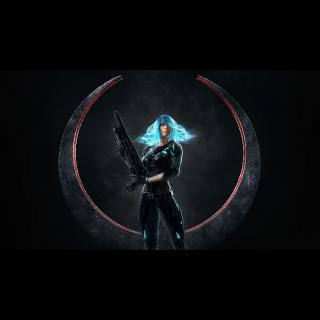 Nyx for Quake Champions (Bethesda Skin code)