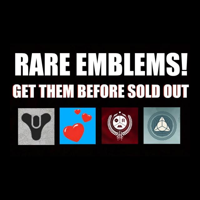 Destiny 2 Planet of Peace Exclusive Emblem [RARE] !!! [Instant Delivery]