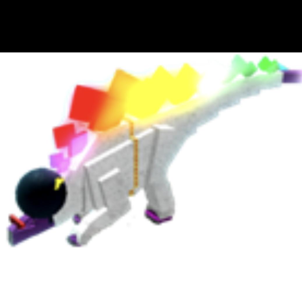 Collectibles Dinosaur Simulator Disco Stegosaurus In Game