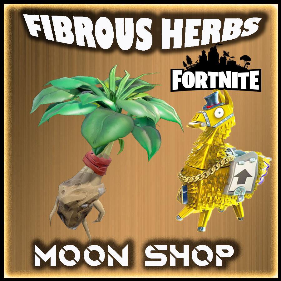Fibrous Herbs  x10000