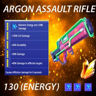 Argon Assault Rifle | 10 x 130 full  perk