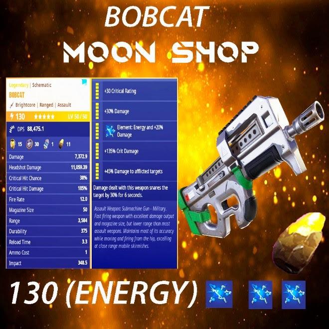Bobcat | x10 130 FULL PERK