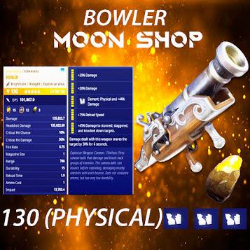 BOWLER |  x20 130 FULL PERK