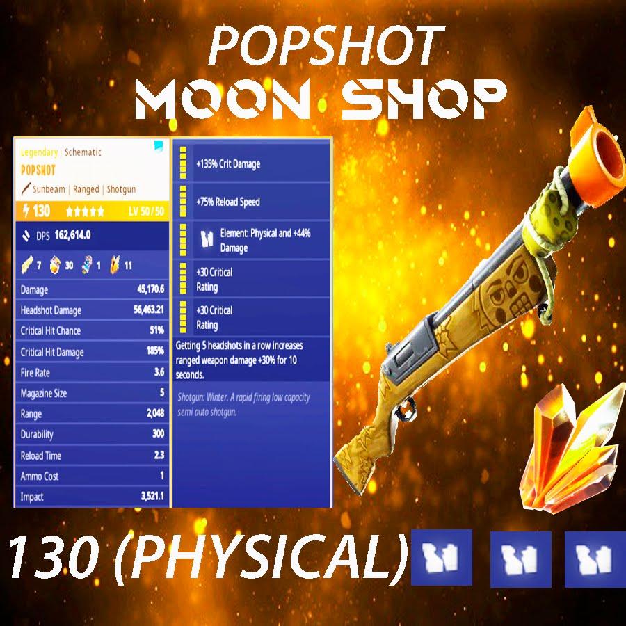Popshot Shotgun    x15 130 FULL PERK
